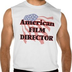 American Film Director Sleeveless Shirts Tank Tops
