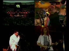 Queen - Now I'm Here (Multiángulos) - Brian May, Queen Videos, Believe, One Time, Youtube, Guys, Concert, Concerts, Sons