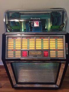 1952 Seeburg Juke Box Restored jukebox
