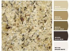 Earthy Granite Countertops