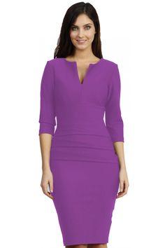 Daphne Three Quarter Sleeved dress