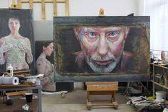 Piet van den Boog's studio