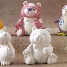 GARE BISQUE PANDA PARTY ANIMAN - Ceramic Arts