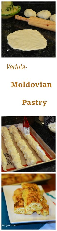 Vertuta or Savory Strudels are a Romanian and Moldavian specialty. Sooo good