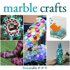Make crafts with marbles and take your home decor up a notch. Here you'll find crafts with flat back marbles and regular round marbles. You can even tie dye! Gem Crafts, Fun Diy Crafts, Crafts To Make, Cracked Marbles, Flat Marbles, Diy Craft Projects, Craft Ideas, Flat Marble Crafts, Marmor Nails