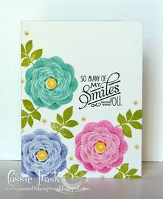"pti ""natural beauties"" - Homemade Cards, Rubber Stamp Art, & Paper Crafts - Splitcoaststampers.com"