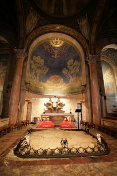 Church of All Nations, Garden Of Gethsemane, Jerusalem, Israel.