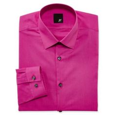 JF J. Ferrar® Solid Dress Shirt - Slim Fit  found at @JCPenney   Presto