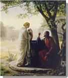 Woman At The Well by Carl Bloch