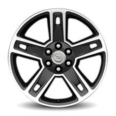 2015 Escalade ESV 22 inch Wheels, High Gloss Black, CK160 SEW