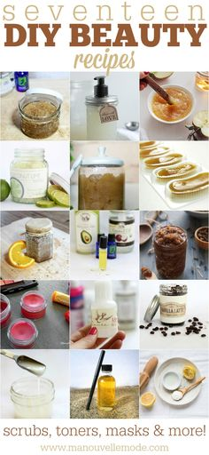 17 DIY Beauty Products you can Make at Home!