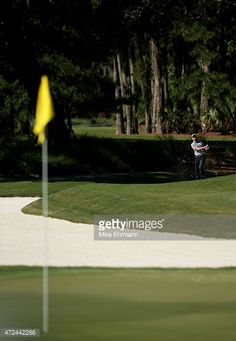 Daniel Berger plays a shot on the 11th hole during round one of THE PLAYERS Championship at the TPC Sawgrass Stadium course on May 7, 2015 in Ponte Vedra Beach, Florida.