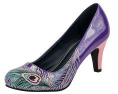 Peacock Feather Anti-Pop Heel - T.U.K. Shoes | T.U.K. Shoes