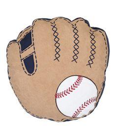 This Glove & Ball Throw Pillow by Levtex Home is perfect! #zulilyfinds