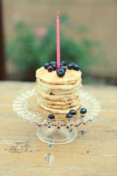 Birthday pancakes: this will happen. You guys, will you make me birthday pancakes? Birthday Pancakes, Birthday Breakfast, Mini Pancakes, Blueberry Pancakes, First Birthday Brunch, Happy Pancakes, Special Birthday, Birthday Surprise Husband, Birthday Bash