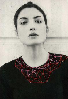 one sheepish girl: Fiber Inspiration - Artist Maria Aparicio Puentes