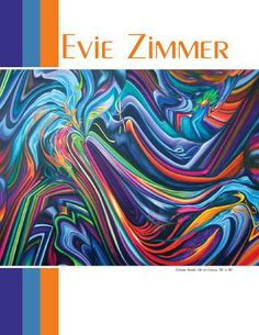 Evie Zimmer Paintings,  Catapult Art Mag,  0314 v28, pages 174/175