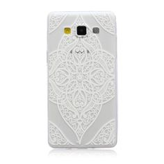 For Samsung A5 Cover Slim TPU Fashion Emboss Painting Case For Samsung Galaxy A5 Case A500 Coque Soft Silicone Phone Fundas * <