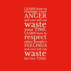 Learn not to waste time.
