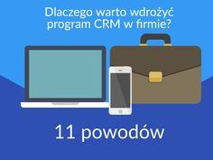 #CRM #prostyCRM #systemCRM #QuickCRM Dlaczego warto wdrożyć? Poznaj 11 powodów. https://quickcrm.pl/program-crm/