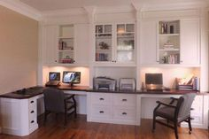 Home Office Decor. Office at home and home study design suggestions, for example tips for a smaller room, desk ideas, layouts, and drawers. Make a work enviroment inside the house you won't ever mind getting work carried out in. 27870355 5 Home Office Decorating Ideas #homeofficefurniture