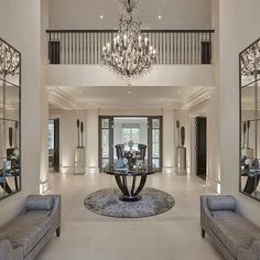 building Entrance Hall area Foyer Lobby with elevator interior design . Luxury Interior, Home Interior Design, Interior Decorating, Luxury Furniture, Contemporary Interior, Contemporary Style, Mansion Interior, Interior Designing, Classic Interior