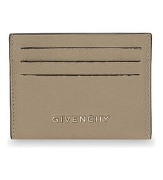 GIVENCHY - Grained leather card holder | Selfridges.com
