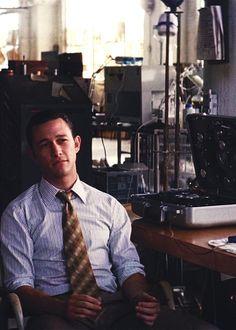 "Joseph Gordon-Levitt portrays the character of Arthur in the movie ""Inception""......."
