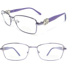 0d390e6595 Few colors can be cool AND passionate. Metal frames with plastic ornate  temples are trending in eye-wear right now.