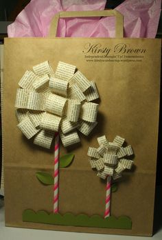 Kirsty Brown - Lots of fab bows from Heartfelt pres - with instructions too