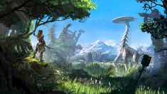 View, download, comment, and rate this 1920x1080 Horizon Zero Dawn Wallpaper - Wallpaper Abyss