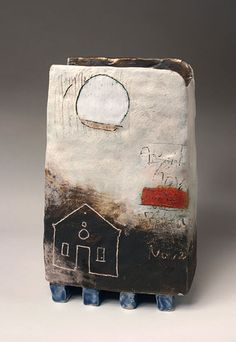 Ceramics by Craig Underhill at Studiopottery.co.uk - 2012. Marazion House, 25cm high