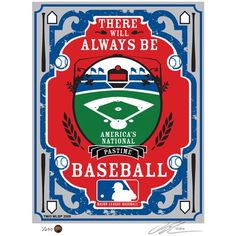 Put your pride on display for the MLB with the MLB That's My Ticket Serigraph. This handmade serigraph mends elements of propaganda art with modern sports that is perfect for a lifelong lover of athletics and history. Red Sox Baseball, Baseball Boys, Football, Mlb Merchandise, Propaganda Art, Cincinnati Reds, Boston Red Sox, Diamond Are A Girls Best Friend, New York Yankees