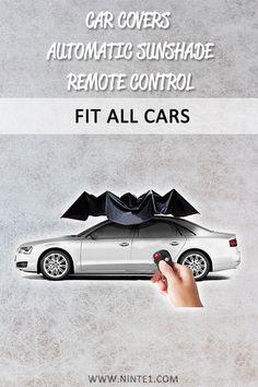Car-covers Automatic Parasols Sunshade Remote Control Umbrella Nano Telescopic for Car Protection Accessories Must Have Car Accessories, Custom Car Accessories, Custom Car Interior, Car Essentials, Car Logos, Car Covers, All Cars, Custom Cars, Remote