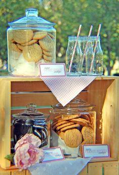 Photo 3 of 36: Cookies & Milk / Birthday Milk and Cookies on the Farm