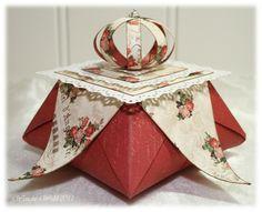 Wenches Kort og Papir: Origamiboks - DT Ett Trykk