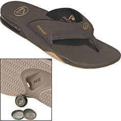 Reef Fanning Sandal - How clever is this?