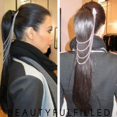 Kim Kardashian Hair Chain 01