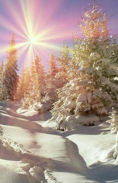 Landscape Sunset Nature Photography New Ideas Winter Sunset, Winter Love, Winter Scenery, Winter Photography, Nature Photography, Winter Wonderland, Image Nature, Winter Magic, Images Wallpaper