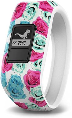Garmin vívofit jr, Kids Fitness/Activity Tracker, 1year Battery Life, Real Flower #affiliatelink