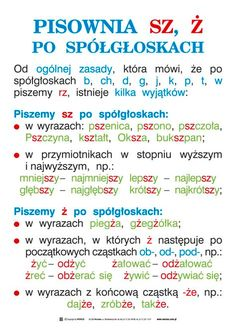 Learn Polish, Teacher Morale, Polish Language, School Subjects, Teaching Activities, School Notes, Science For Kids, Teaching English, Funny Texts