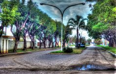Boulevard Santa Fe, calle principal de Irigoyen.