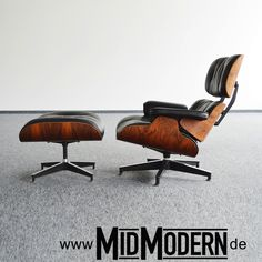 Eames Lounge Chair Amp Ottoman Herman Miller 1978 Rosewood