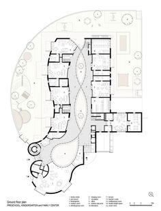 Preschool, Kindergarten and Family Center in Bolzano Italy   MoDus Architects