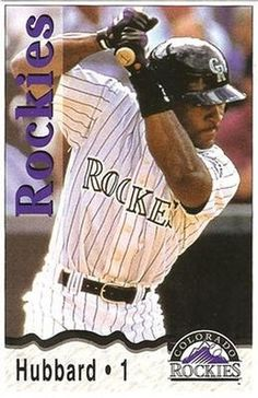 Trenidad Hubbard Ian Desmond, Rockies Baseball, Colorado Rockies, Baseball Cards, Christmas, Yule, Navidad, Xmas, Christmas Music