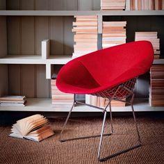 Diamond chair by Harry Bertoia | Livingetc design classics | modern decorating | furniture and accessories | PHOTO GALLERY | Livingetc | Hou...