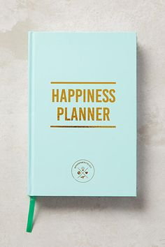 The Happiness Planner #anthrofave