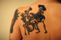 mexican skeleton band