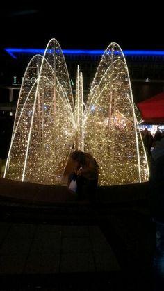 Weihnachtsmarkt (christmas market)  in NRW Essen Germany