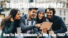 Millennium 7 Publishing Co.: How To Get Millennials To Buy From YOU? Free Market, How To Get, Marketing, Education, Digital, Movie Posters, Movies, Stuff To Buy, Films